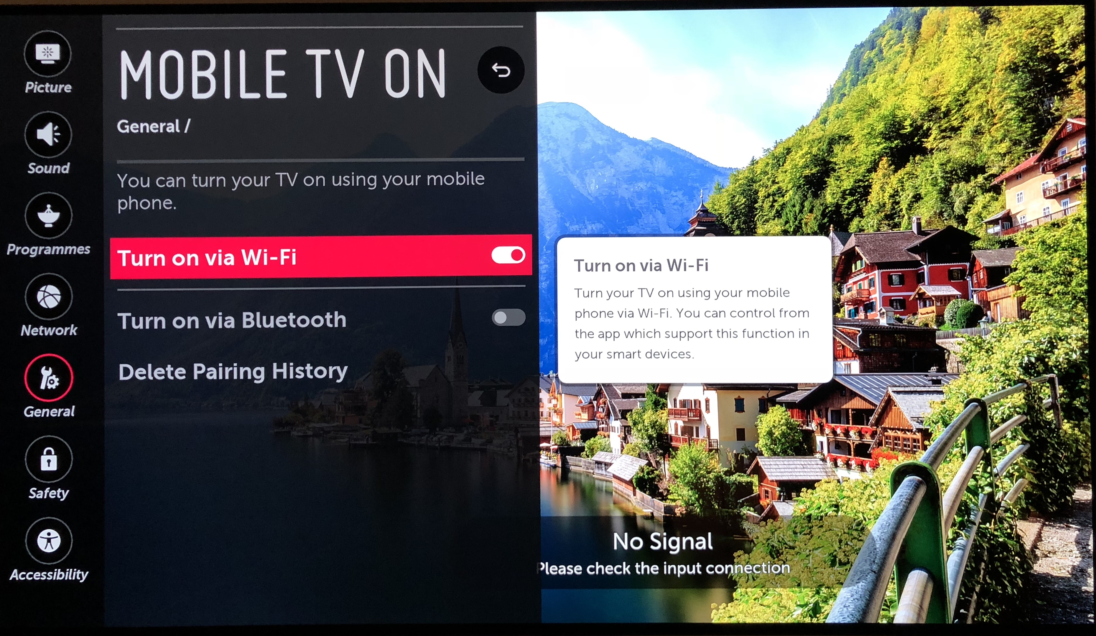 How to turn on my LG Smart TV using the App (WebOS